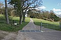 Private road to farm near Rotherfield Park - geograph.org.uk - 148621.jpg