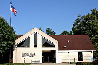 Proctorville, Ohio - The Briggs Lawrence County library system's Proctorville branch