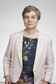 Portrait photograph of Professor Caroline Series, FRS