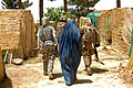 Provincial Reconstruction Team Zabul, Afghan women meet 110722-F-WB609-130.jpg