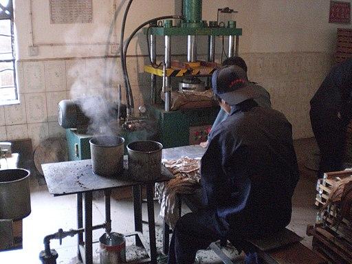 Pu-erh factory