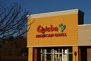 Qdoba - Qdoba Mexican Grill on Andover St. in Peabody, Massachusetts
