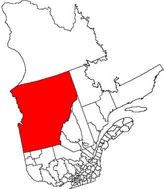 Jamésie - Jamésie and Eeyou Istchee equivalent territories combined