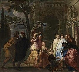 Achille parmi les filles de Lycomède