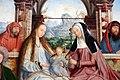 Quinten metsys, trittico della confraternita di sant'anna a lovanio, 1509, 07 metterza.JPG