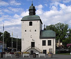 The town hall from the 15th century is Sweden's oldest