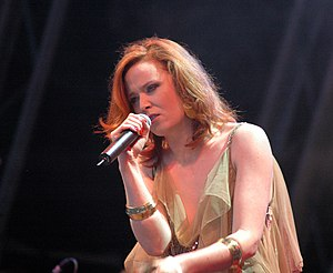 Ruby Blue (album) - Murphy performing at the 2005 Glastonbury Festival.