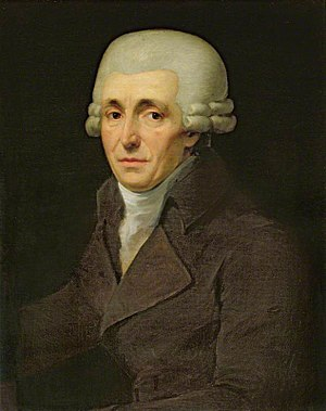 The Creation (Haydn) - Portrait of Joseph Haydn by Johann Carl Rößler (1799)
