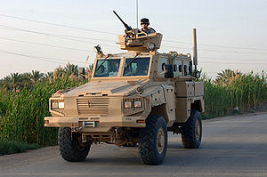Special Task Force (SAPS) - The RG-31 Armoured Personnel Carrier.