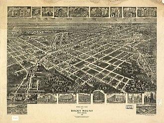 Rocky Mount, North Carolina - Rocky Mount, North Carolina in 1907