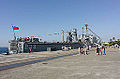 ROCN Chong Ping (LST-233) Shipped in No.6 East Pier, Zuoying Naval Base 20141123b2.jpg