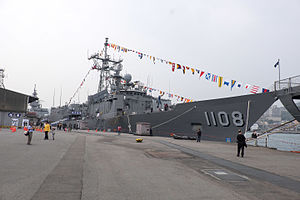 ROCN Pan Chao (PFG2-1108) Shipped at Keelung Naval Pier 20150316a.jpg