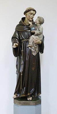 RV Liebfrauenkirche Marienkapelle  Antoniusnische Figur.jpg