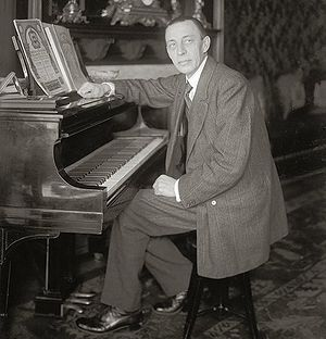 Anna Anderson - Image: Rachmaninoff seated at Steinway grand piano