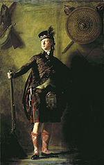 Portrait by Henry Raeburn of Alasdair Ranaldson MacDonell of Glengarry in 1812