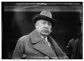 Rafael Reyes President of Colombia, 1904-1909