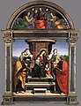Raffaello Sanzio - Madonna and Child Enthroned with Saints - WGA18621.jpg