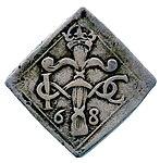 Raha; markka; klippinki; 4 markkaa - ANT2-630b (musketti.M012-ANT2-630b 1).jpg