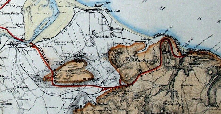 Railways in Cleveland 1863