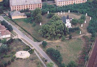 Rakamaz Place in Northern Great Plain, Hungary