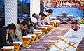 Ramadan 1439 AH, Qur'an reading at Jameh Mosque of Sanandaj - 17 May 2018 06.jpg