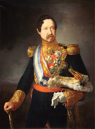 Ramón María Narváez, 1st Duke of Valencia - The Duke of Valencia, by Vicente López.