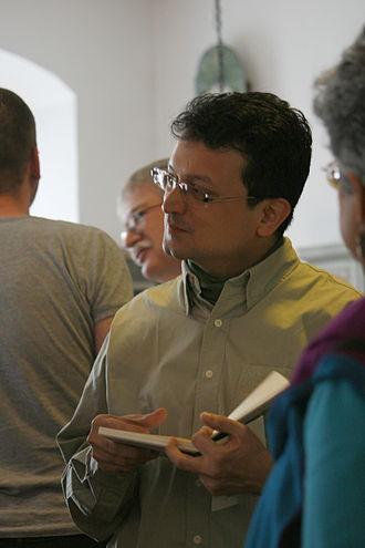 Ranjit Hoskote - Ranjit Hoskoté at Leselenz Hausach 2012