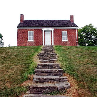 John Rankin (abolitionist) - The Rankin House on Liberty Hill in Ripley, Ohio
