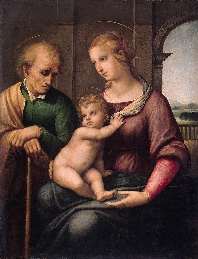 «Святое Семейство (Мадонна с безбородым Иосифом)»