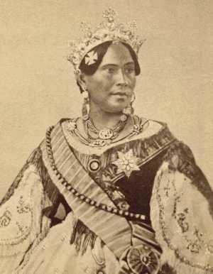 Rasoherina - Queen Rasoherina in about 1865