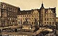 Rathaus und Marktplatz in Düsseldorf (um 1900).jpg