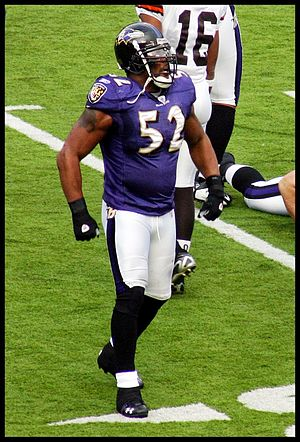 Ray Lewis - Lewis during a 2007 game vs. the Cleveland Browns