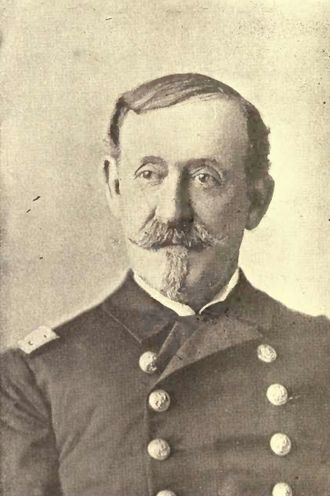 Winfield Scott Schley - Rear Admiral Winfield Scott Schley during the Spanish–American War