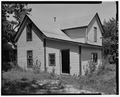 Rear side from southwest - 828 Martin Luther King Jr. Parkway (Cottage), Des Moines, Polk County, IA HABS IOWA,77-DESMO,26-4.tif