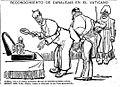 Reconocimiento de Canalejas en El Vaticano, de Tovar, El Liberal, 20 de abril de 1910.jpg