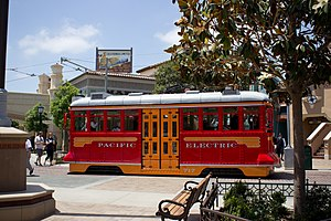 Red Car Trolley - Image: Red Car Trolley side on California Adventure