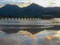 Reflections on Hanalai Bay (8034648979).jpg