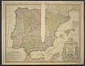 Regnorum Hispaniae et Portugalliae - Tabula generalis ad statum hodiernum in suas Provincias divisa 01.jpg