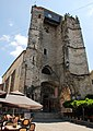 Remains (the tower) of another old church in Souillac. Now an exposition building for arts - panoramio.jpg