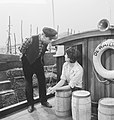 """Repetitie televisiespel """"De Waternimf """" - Henk van Ulsen en Kitty Courbois, Bestanddeelnr 912-7068.jpg"""