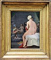 Repetition of Ingres' Valpicon Bather Motif in a Small Painting Done on Commission (12413336194).jpg