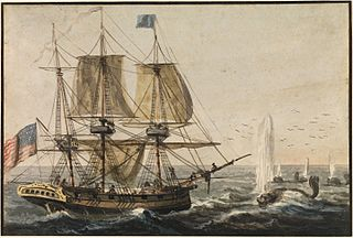 Replenishing the Ship's Larder with Codfish off the Newfoundland Coast