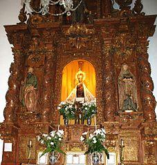 Retablo de Nuestra Señora de la Antigua