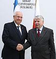 Reuven Rivlin Bogdan Borusewicz Senate of Poland.JPG