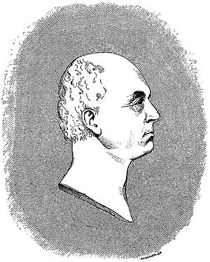 Jean Reynaud - Portrait of Reynaud, engraving after a portrait by Madame Reynaud