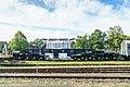Rheinsberg Transportwagen abgebrannte Brennelemente-02.jpg