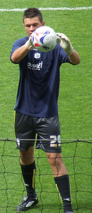 Richard O'Donnell - O'Donnell training with Sheffield Wednesday in 2007