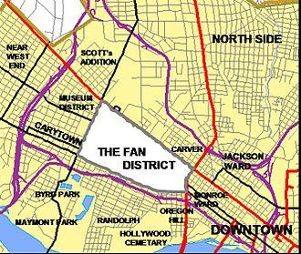Neighborhoods of Richmond, Virginia - The Fan is one of many other Neighborhoods of Richmond Virginia