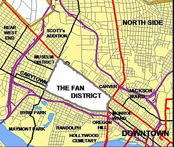 Neighborhoods of Richmond, Virginia - Wikipedia
