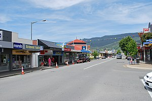 Richmond, New Zealand - The main street of Richmond, New Zealand